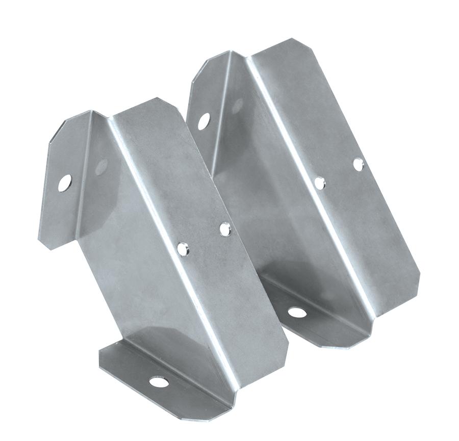 Angular Bracket With Screws For Shark 2 Ft. Or 4 Ft. Linear Washdown.