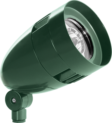 LFLOOD 13W WARM LED BULLET WITH  HOOD AND  LENS VERDE GREEN