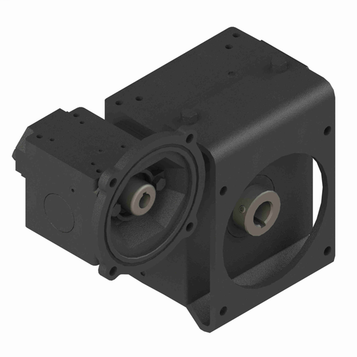 Cast Iron Double-Reduction Worm Reducer