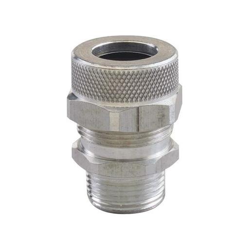 """Mayer-Cord Grip, Alum, 1/2"""" Npt, Cable Range .188 - .250, Form Size 2-1"""