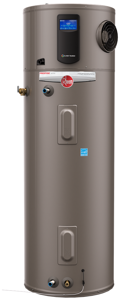 Professional Prestige 80 Gallon Electric EcoNet Enabled Hybrid Electric Water Heater with 10 Year Limited Warranty PROPH80 T2 RH350 D