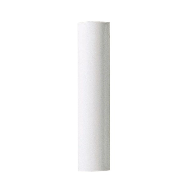SATC 90-370 4IN WHITE PLASTIC CANDLE COVER