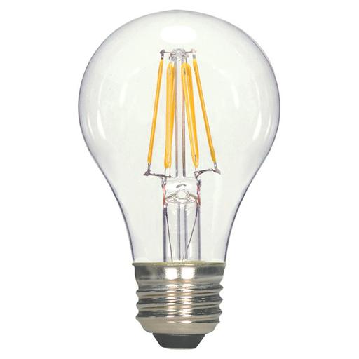 SAT S9562 6.5A19CL/LED/E26/27K 120V