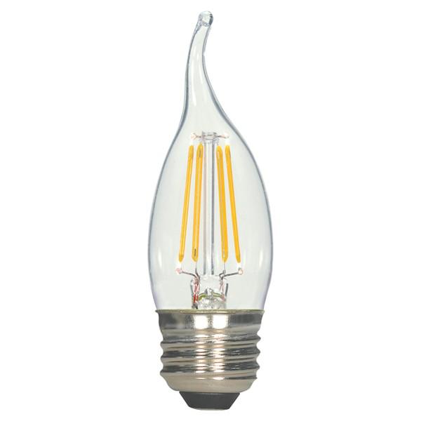 SATC S9264 4.5EFC/LED/27K/120V LED FILAMENT VINTAGE LAMP