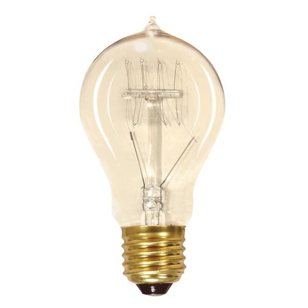 SATC S2419 60 WATT EDISON STYLE VINTAGE LAMP
