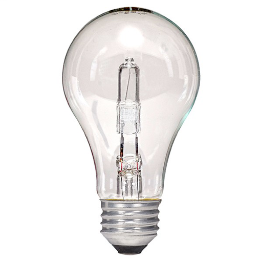 SAT S2402 43W 120V HALOGEN LAMP CLEAR (SELL QTY 1ea = 2-PACK)