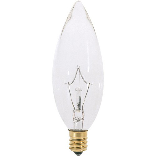 SATC A3684 INCANDESCENT LAMP 60B10 CLEAR TOP 100