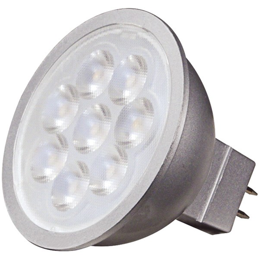 SAT S9496 6.5W; LED MR16 LED 3000K; 40' BEAM SPREAD; GU5.3 BASE; 12V *POSSIBLY REBATEABLE*