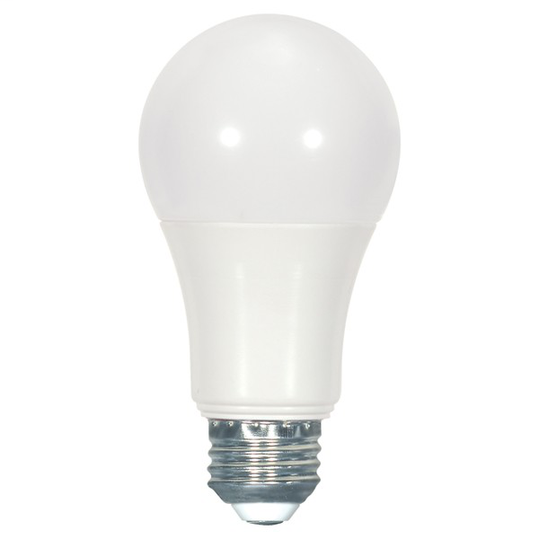 SATC S9114 9.6 WATT; A19 LED; FROSTED; 2700K MEDIUM BASE; 240' BEAM SPREAD; 120 VOLTS; NON-DIMMABLE