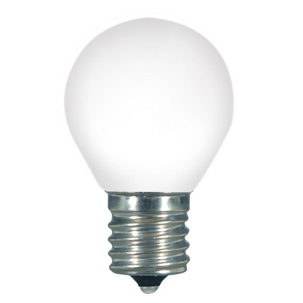 1 Watt LED, S11, White, 2700K, Intermediate base, 120 Volt, Carded