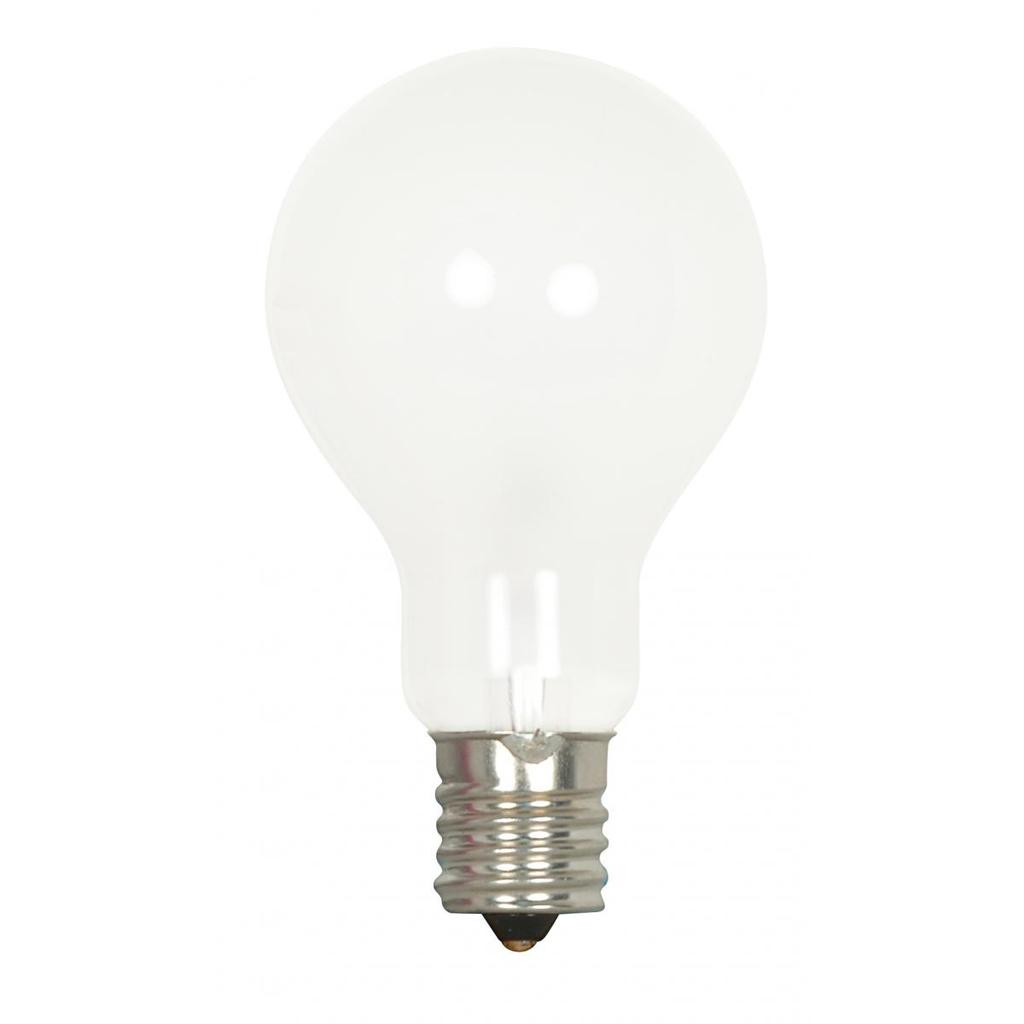 SATCO S4165 40 W 130 Volt 420 Lumen Frosted E17 Intermediate Base A15 Incandescent Lamp
