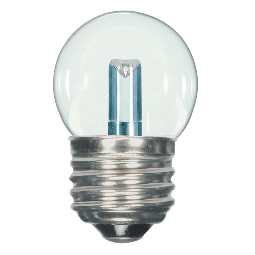 1.2 Watt LED, S11, Clear, 2700K, Medium base, 120 Volt, Carded
