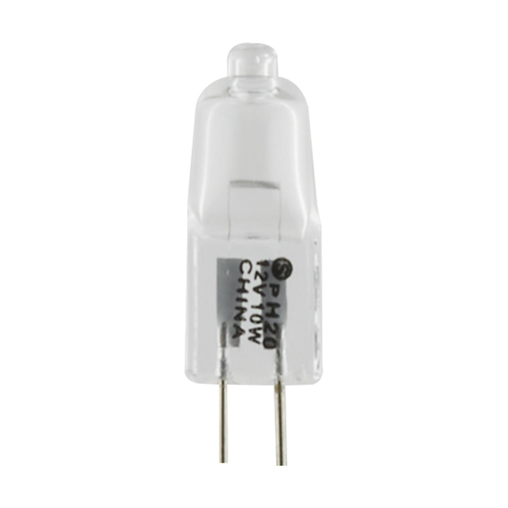 SATCO S3171 10 W 12 Volt 2900 K 120 Lumen Clear Bi-Pin G4 Base T3 Halogen Lamp
