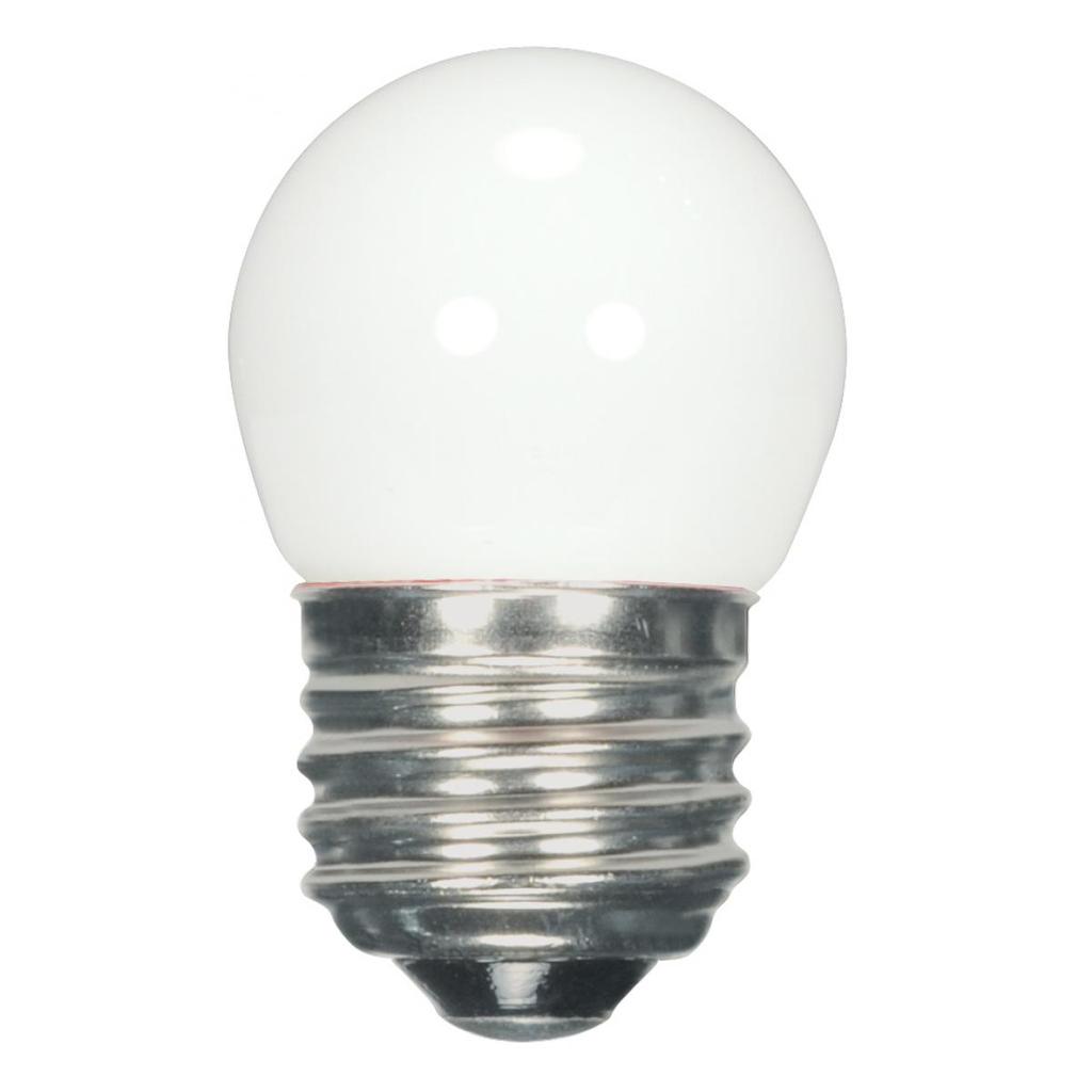 1.2 Watt LED, S11, White, 2700K, Medium base, 120 Volt, Carded