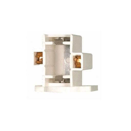 Horizontal Screw Down Socket, 2-Pin Lamps, GX23 And GX23-2 Base For: CF13DS And CF13DD, 75W, 600V