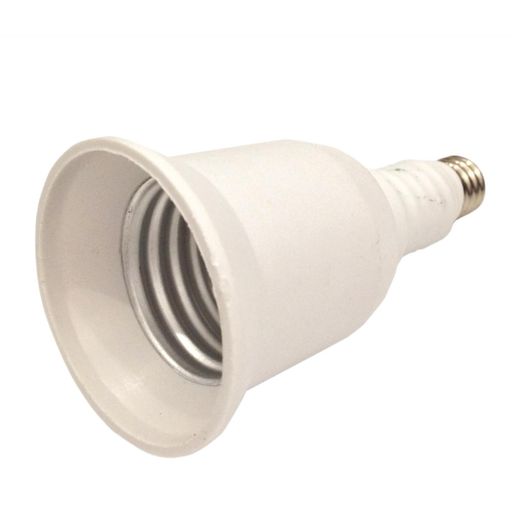 """Mini Candle To Medium Socket Adapter, E11-E26, 2-1/4"""" Overall Extension, 250W, 250V"""