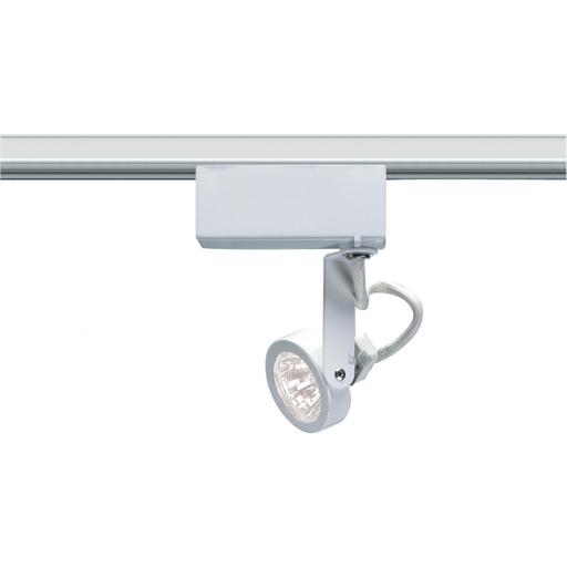 1 Light - MR16 - 12V Track Head - Gimbal Ring - White Finish