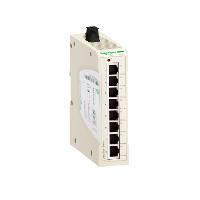 SQD TCSESU083FN0 8 port 10/100BaseT/TX RJ45 IP20 unmanaged ethernet switch