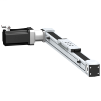 Mayer-Portal axis PAS E - toothed belt - roller - payload 4 kg - stroke 300 mm-1