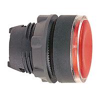 SQD ZB5AH043 FLUSH PUSH ON/PUSH OFF ILLUM FOR LED RED