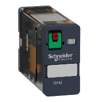 SQD RPM11F7 PLUG-IN RELAY 250V 15A RPM +OPTIONS