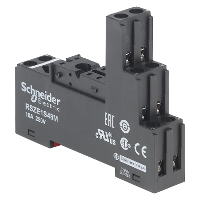 SQD RSZE1S48M 10A 250V AC RELAY SOCKET RSB OPTIONS