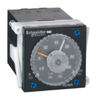 SCHNEIDER ELECTRIC IP20 solder connector - for time delay relay
