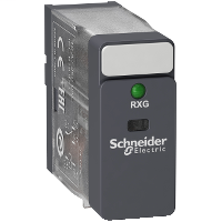 Mayer-Interface plug-in relay - Zelio RXG - 1 C/O standard - 6 V DC - 10 A - with LED-1
