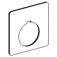 SQD 9001KN100WP PUSHBUTTON LEGEND PLATE 30MM TYPE K