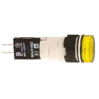 SQD XB6AV5GB 120V YEL RND LED