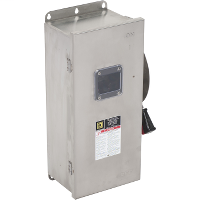 100A 3P Type4/4X 600VAC/DC Heavy Duty Non-Fusible Safety Switch
