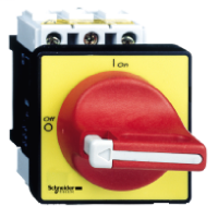 SQD VCD0 20AMP SW.KIT W/SINGLE HOLE MTG.RED/YELLOW OPER