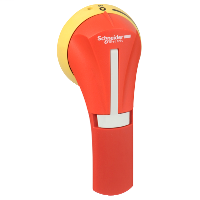 SQD GS2AH440 HANDLE RED/YELLOW OFF ON