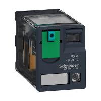 SQD RXM4AB2BD PLUG-IN RELAY 250V 6A