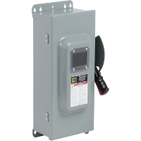 Mayer-100A 2P SN Type 12 240VAC/250VDC Heavy Duty Fusible Safety Switch-1