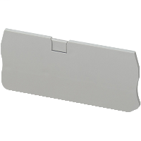 SQD NSYTRACR24 END COVER, 4PTS, FOR NSYTRR24 TERMINALS