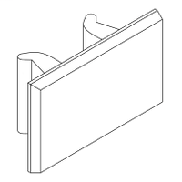 SCHNEIDER ELECTRIC 2 sheets of 64 clip-in legends
