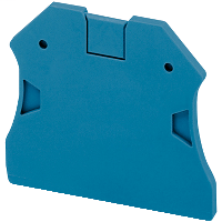 SQD NSYTRAC22BL END COVER 2PTS FOR SCREW TERMINALS BLUE