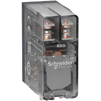 Mayer-Interface plug-in relay - Zelio RXG - 2 C/O clear - 12 V DC - 5 A-1