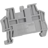SQD NSYTRAAB35 END BRACKET SNAP-ON FOR 35MM DIN RAILS