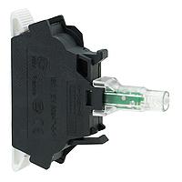 Mayer-Green light block for head Ø22 integral LED 110...120V spring clamp terminals-1