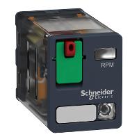 SQD RPM22B7 15A 240V PLUG-IN RELAY