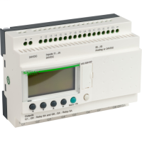 SQD SR3B261BD ZELIO 24VDC RLY OPT