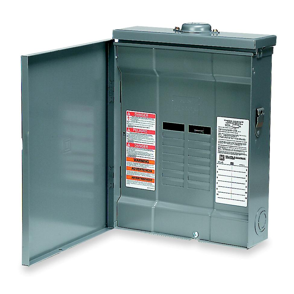 SQD QO112L125GRB LD-CNTR BOX&INT