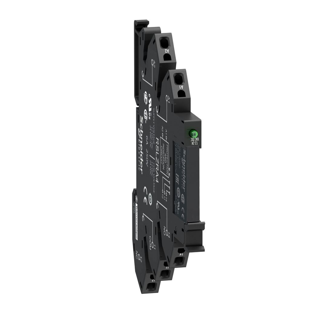 SQD RSL1PRFU RELAY + SPRING CLAMP SOCKET 115 VAC/VDC