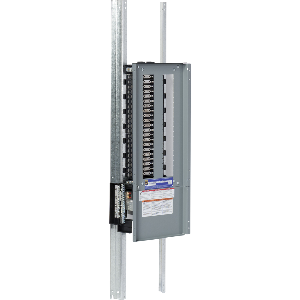 Mayer-NQ Pnlbrd Interior 600A, 1 PH, 3 Wire, 42 CCT, Mn Lug, Cu-1