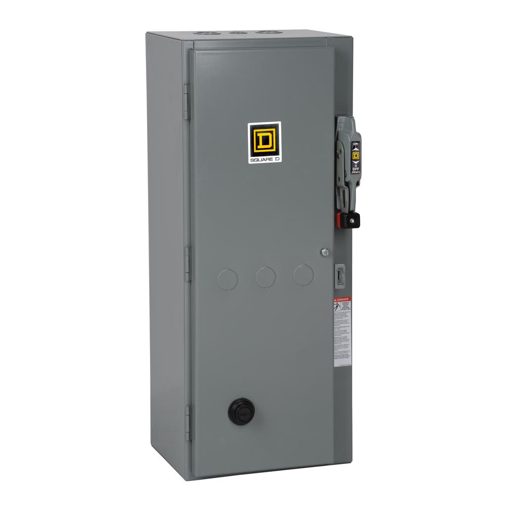 Mayer-NEMA Fusible Disconnect Switch Combination Starters 8538S - 8538SDG34V02S-1