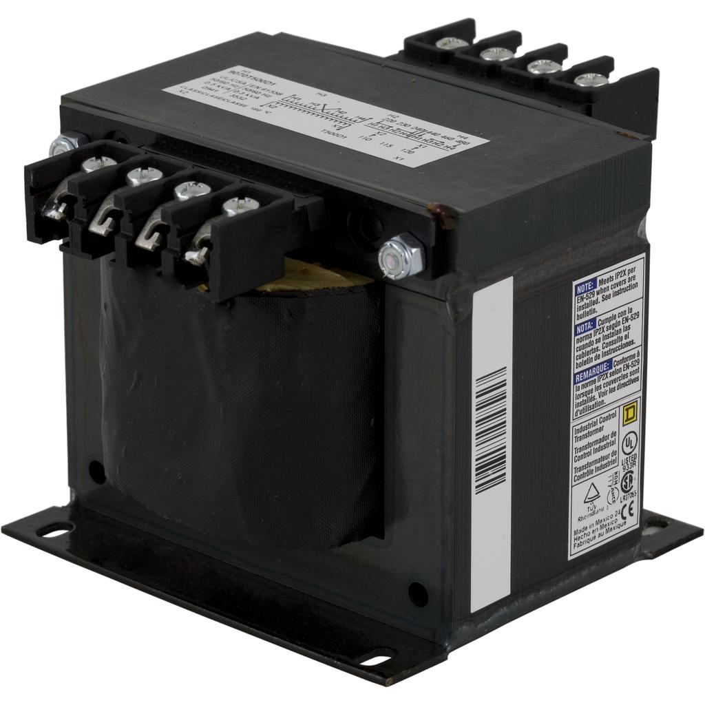 SQD 9070T500D1 500VA 240/480V-120V TRANSFORMER