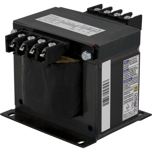 SQD 9070T500D1 500VA 240/408V-120V TRANSFORMER CONTROL