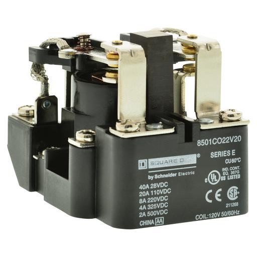 SQD 8501CDO22V60 RELAY 220VDC 4AMP